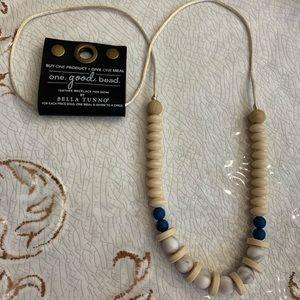 NWT Bella Tunno One.Good.Bead Mom Teether Necklace